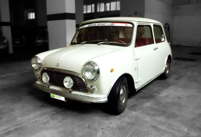 Innocenti Mini Minor Mk1 1000cc 1968 Epoca Manutenzione