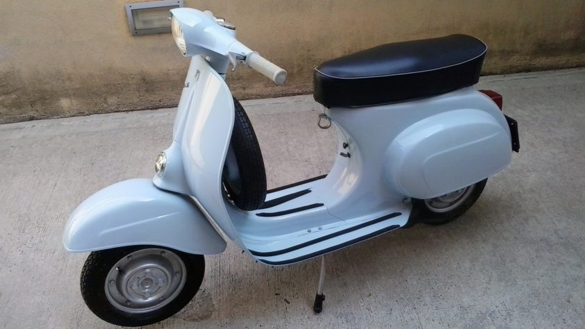 vespa 50 n 1966. Black Bedroom Furniture Sets. Home Design Ideas