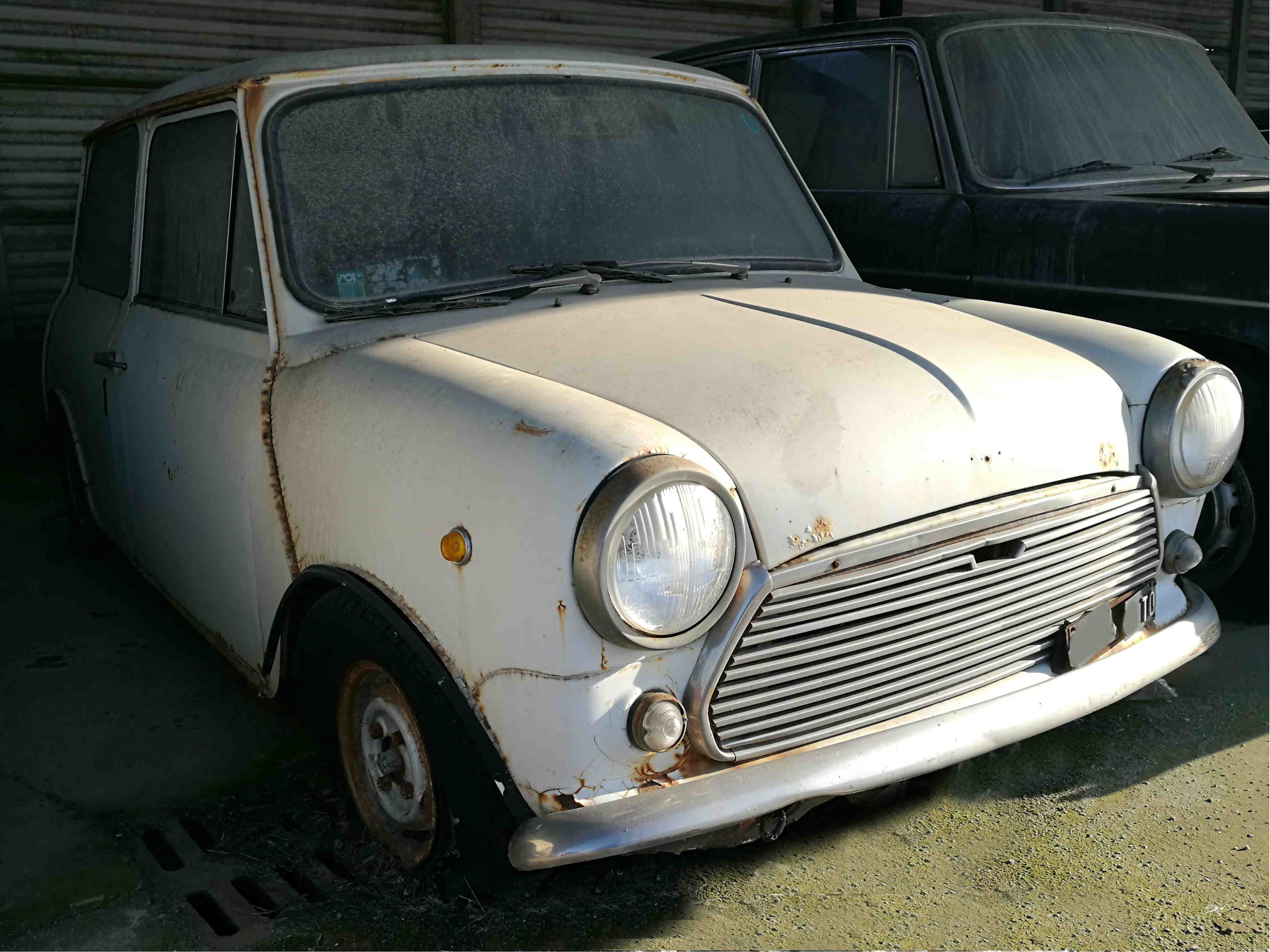 Innocenti Mini Mk3 Asimarketit
